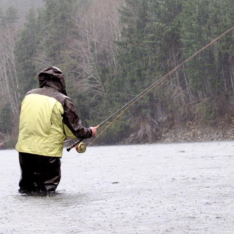 VANCOUVER ISLAND STEELHEAD FISHING IN FEBRUARY