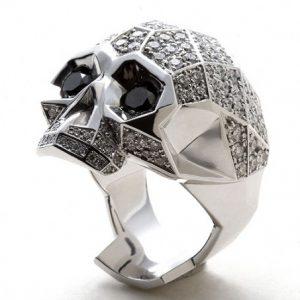 Anillos skulls