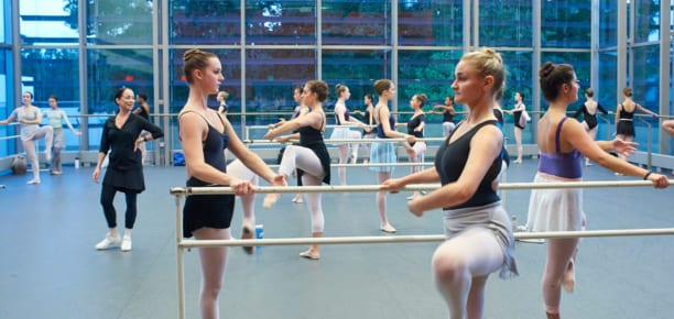 American Ballet Theatre Master Class with Cheryl Yeager