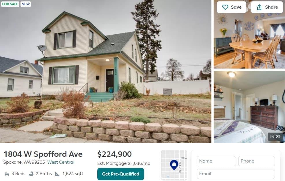 spokane neighborhoods west central