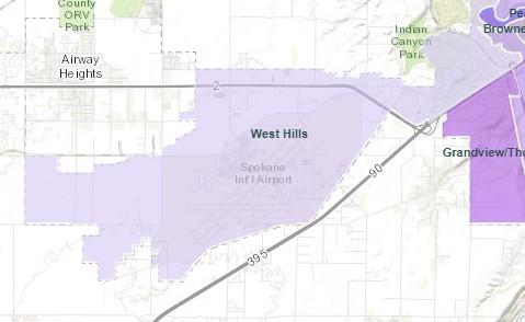 west hills spokane