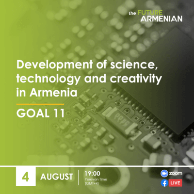 Development of science, technology and creativity in Armenia (Goal 11)