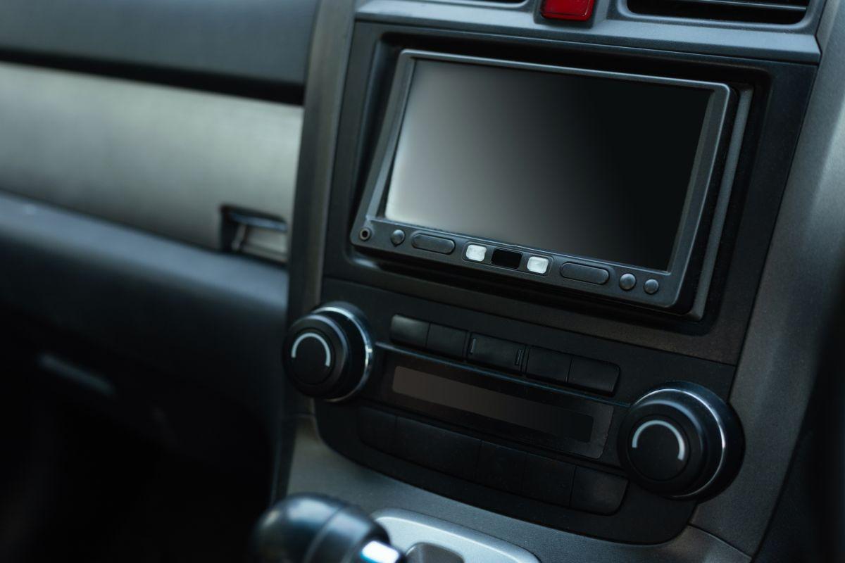 Blank Double DIN Car Stereo