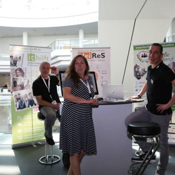 Als Sprecher und Aussteller bei der Developer Week in Nürnberg