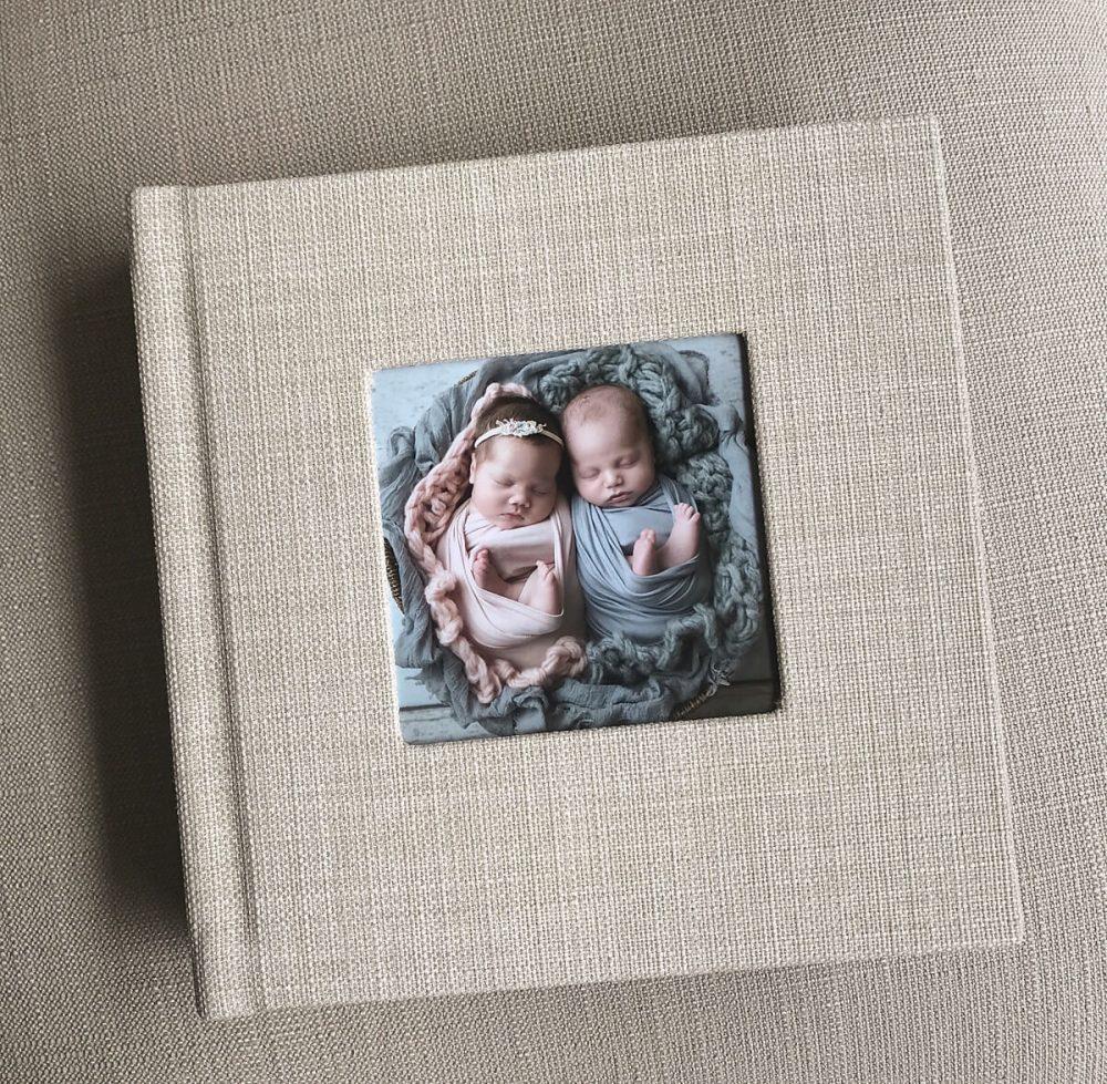twins baby album