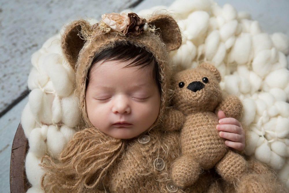 newborn baby girl san antonio photography