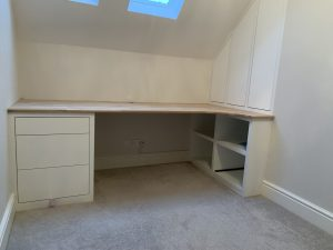 Made to measure home office.
