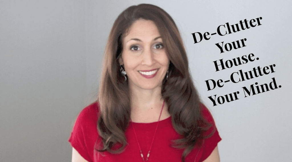 declutter your house, declutter your home