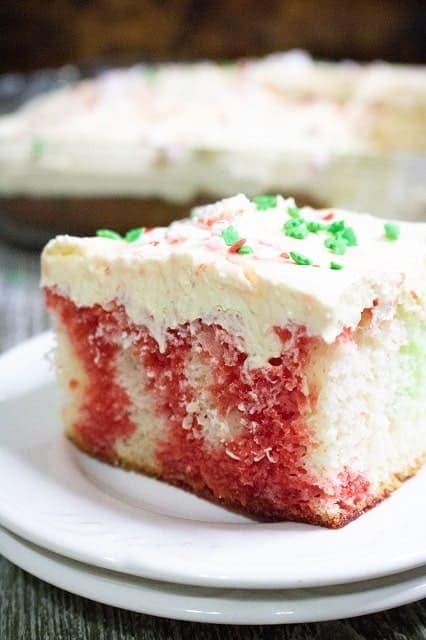 Christmas Poke Cake