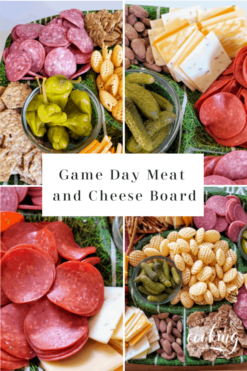 Margherita® Hard Salami, Italian Dry Salami, Pepperoni, and Genoa Salami are perfect for snacking, entertaining, and incorporating into everyday recipes like this Game Day Meat and Cheese Board. The following content is intended for readers who are 21 or older. #MargheritaSnacks #CollectiveBias #21plusonly #ad via @Mooreorlesscook