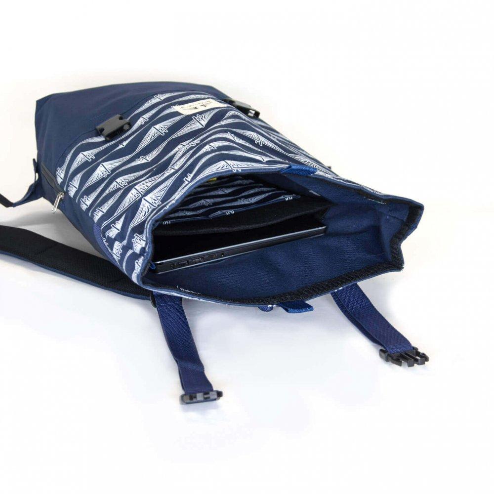 plecak milenijny przegroda na laptopa