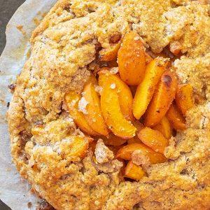 Gluten-Free Apricot Galette Recipe
