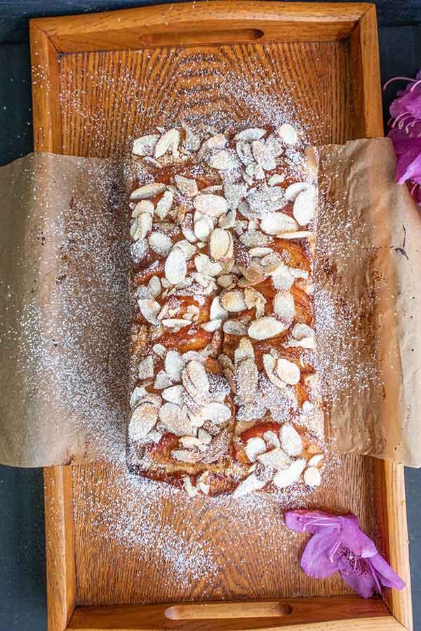 Gluten-Free Apricot Almond Quick Bread