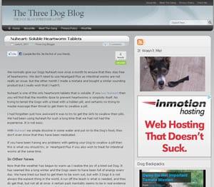 The Three Dog Blog