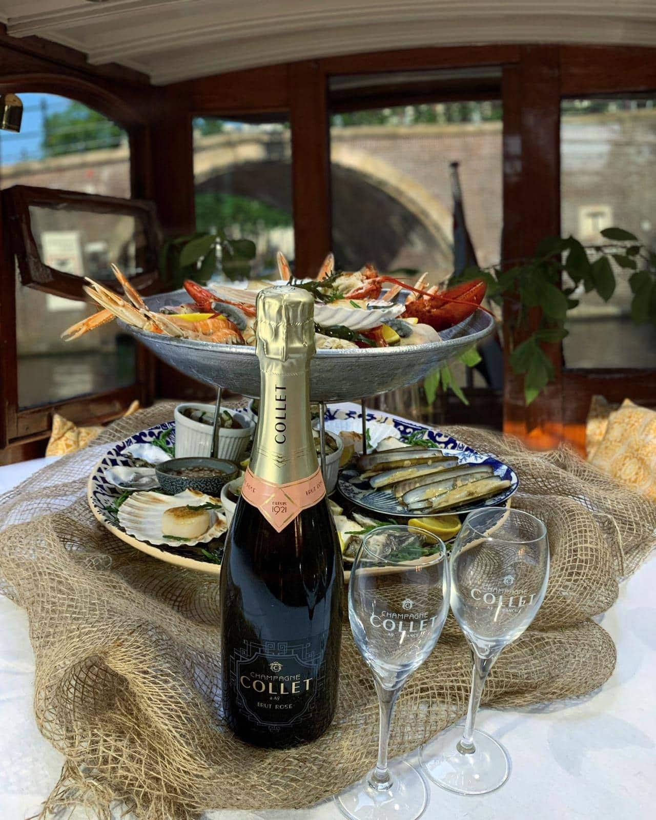 Champagne cruise Salonboot