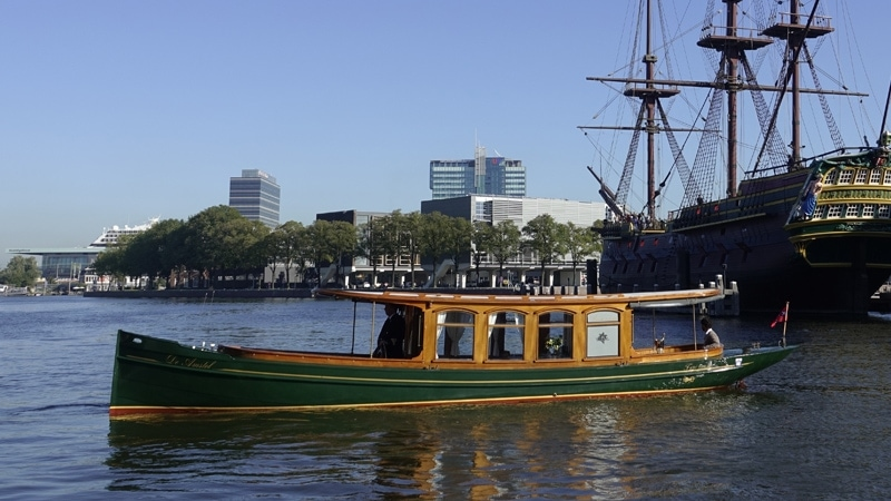 Private boat tour with the gentleman's launch the Amstel WM1
