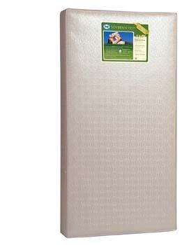 4. Sealy Soybean Foam-Core Infant/Toddler Crib Mattress