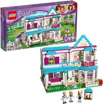 6. LEGO Friends Stephanie's House 41314 Build and Play Toy House
