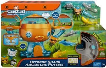 1. Fisher-Price Octonauts Octopod Shark Adventure Playset