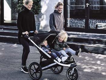 6. Thule Urban Glide 2 Jogging Stroller
