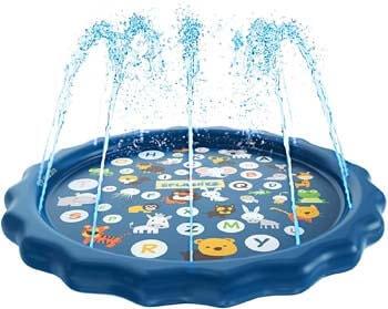 6. SplashEZ 3-in-1 Sprinkler for Kids