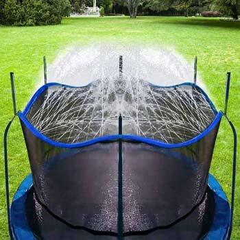 9. Bobor Trampoline Sprinkler for Kids