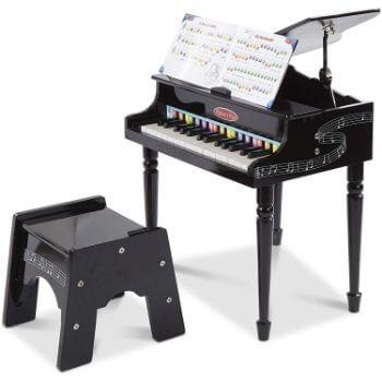 1. Melissa & Doug Learn-to-Play Classic Grand Piano