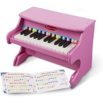 5. Melissa & Doug Pink Piano