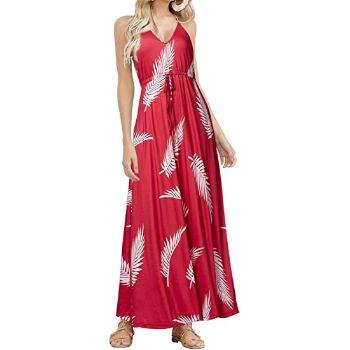 9.  Huskary Beach Maxi Dress