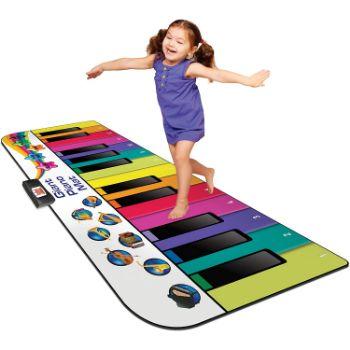 9. Kidzlane Floor Piano Mat for Kids and Toddlers