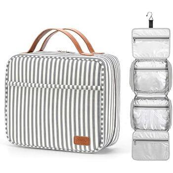 4. Bosidu Hanging Travel Toiletry Bag