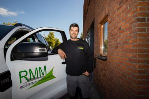 Logo RMM Mobiele Truck Cleaning Service