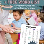 how to teach the long i sound plus free word list pin image
