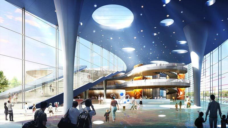 Planetarium in Shanghai, China
