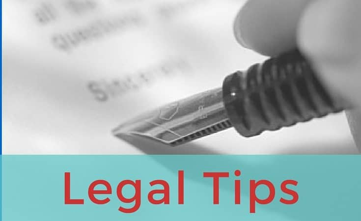 3 Legal Tips to Protect Your Small Business