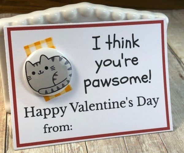 Valentines Day Card-cat