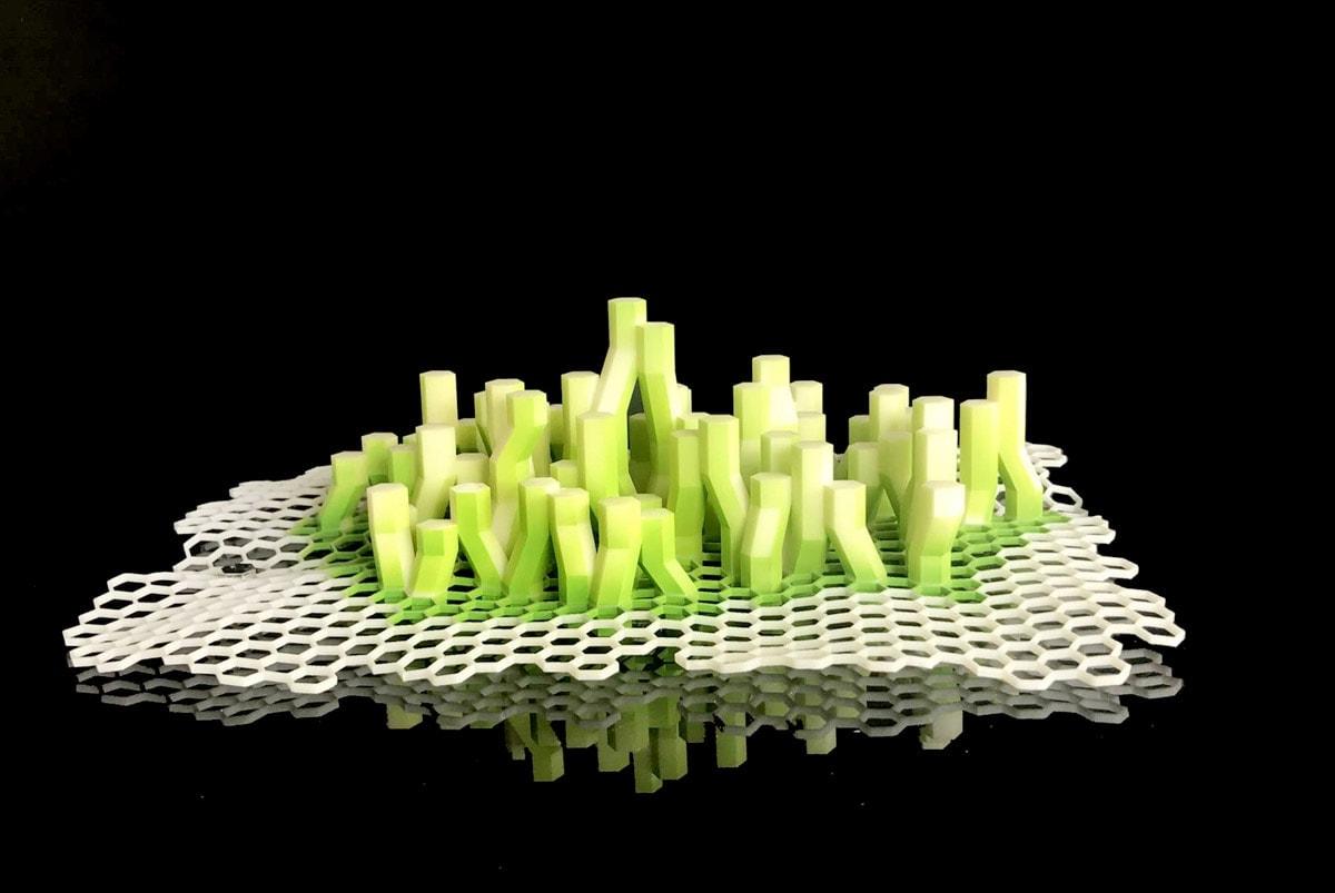 maquette X-SEA-TY par XTU-architects