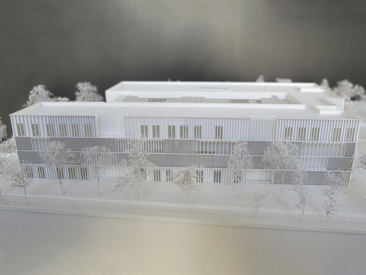 Palais de justice de Mont de Marsan par Mader architectes