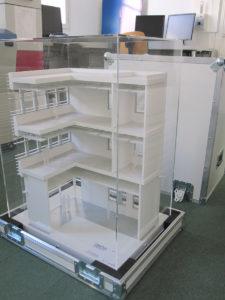 caisse fly pour maquette d'architecture