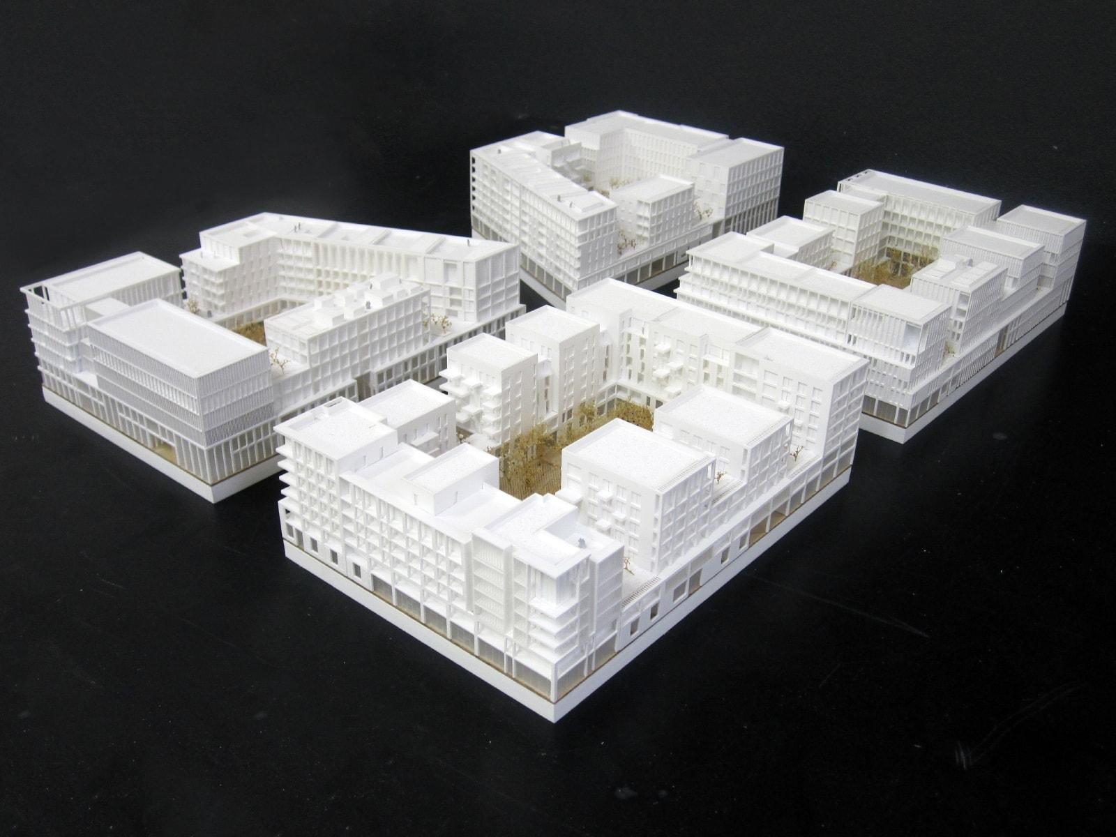 maquette de concours lumineuse pour sud architectes, marie odile foucras, Ammeller Dubois et A+ Samul Delmas