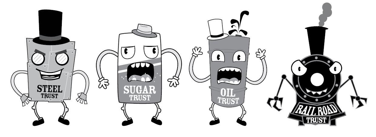 4 examples of trusts under antitrust laws