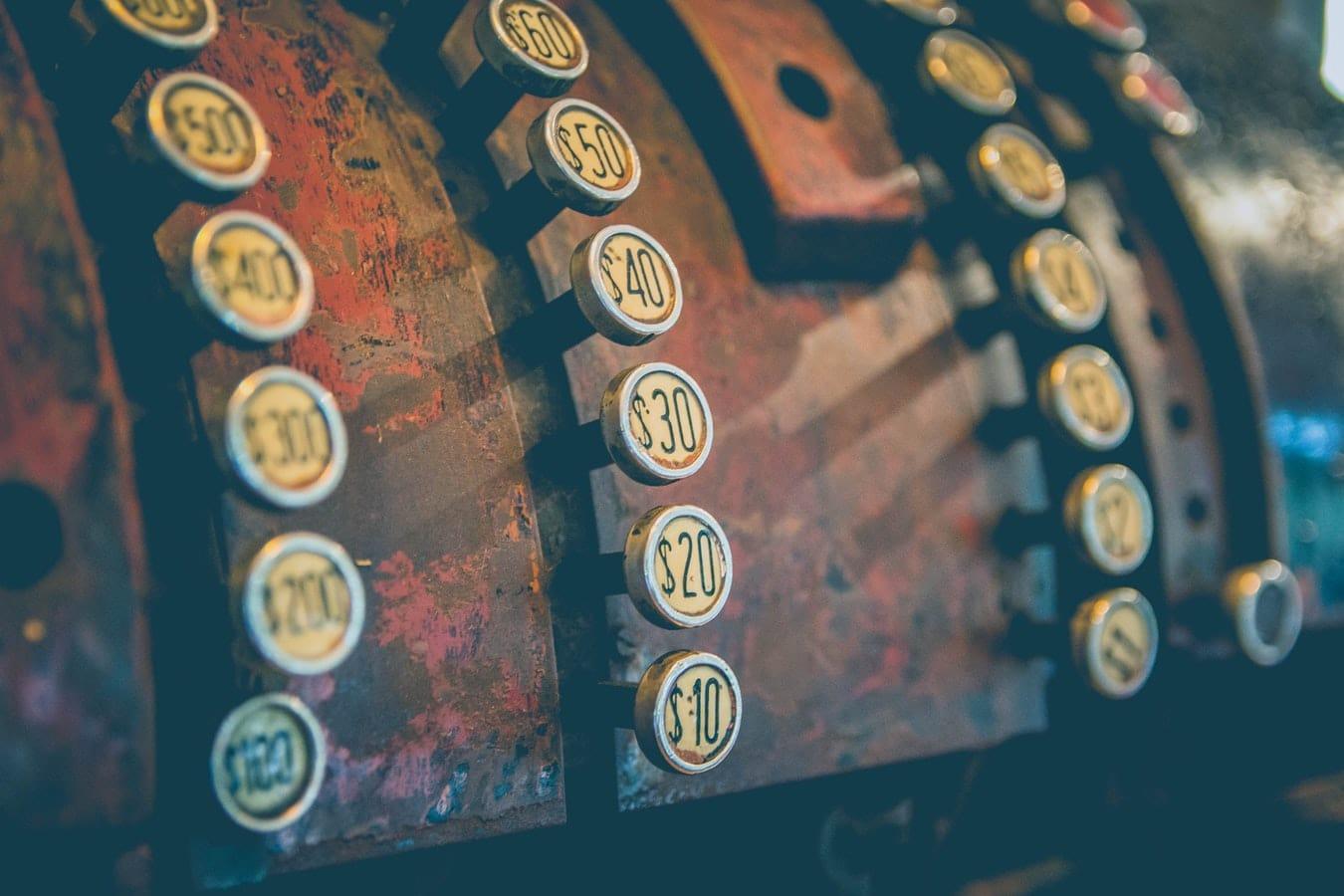 cash register used in price discrimination