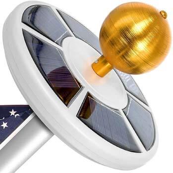 3: Vont Solar Flag Pole Light