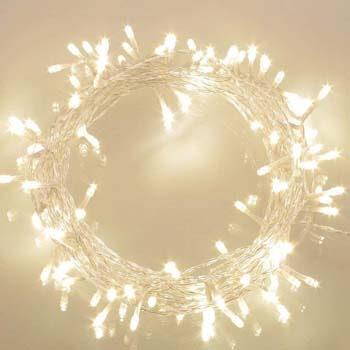 4: Koopower 36ft 100 LED Battery Operated String Lights