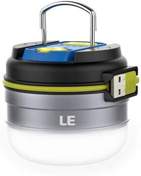 9: LED Camping Lantern Rechargeable Lights