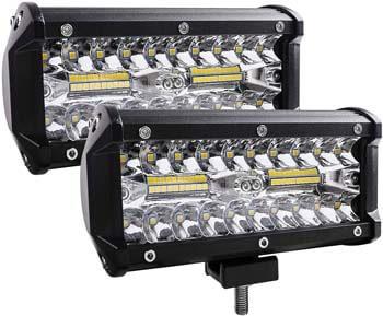 3: Zmoon Led Light Bar, 240W 24000lm Led Fog Light