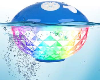 2: Bluefree Bluetooth Speakers with Colorful Lights
