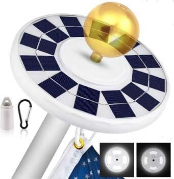 6: MOICO Solar Flag Pole Light