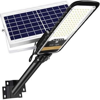 3: RuoKid 80W Solar Street Lights Outdoor Lamp