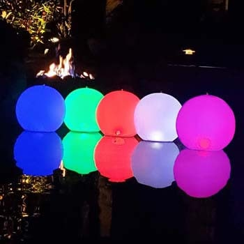 7: Cootway Floating Pool Lights